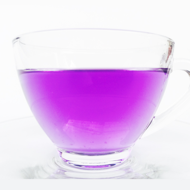 la couleur violet magic tea canada