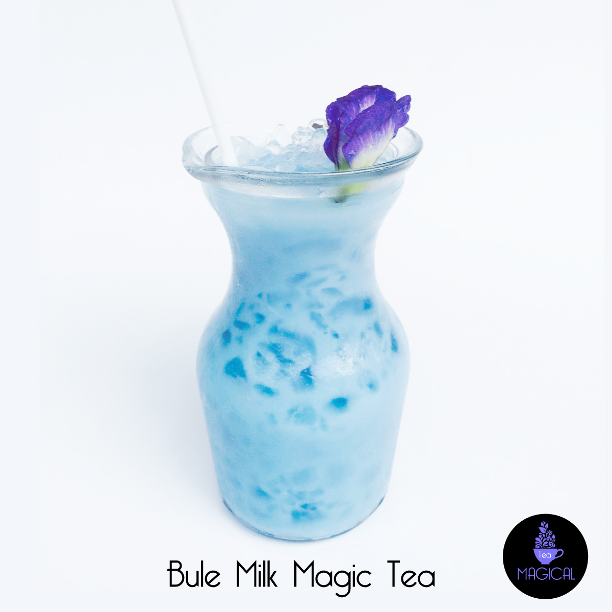 Blue Milk Magic Tea