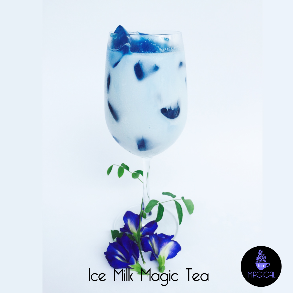 Ice Milk Magic Tea