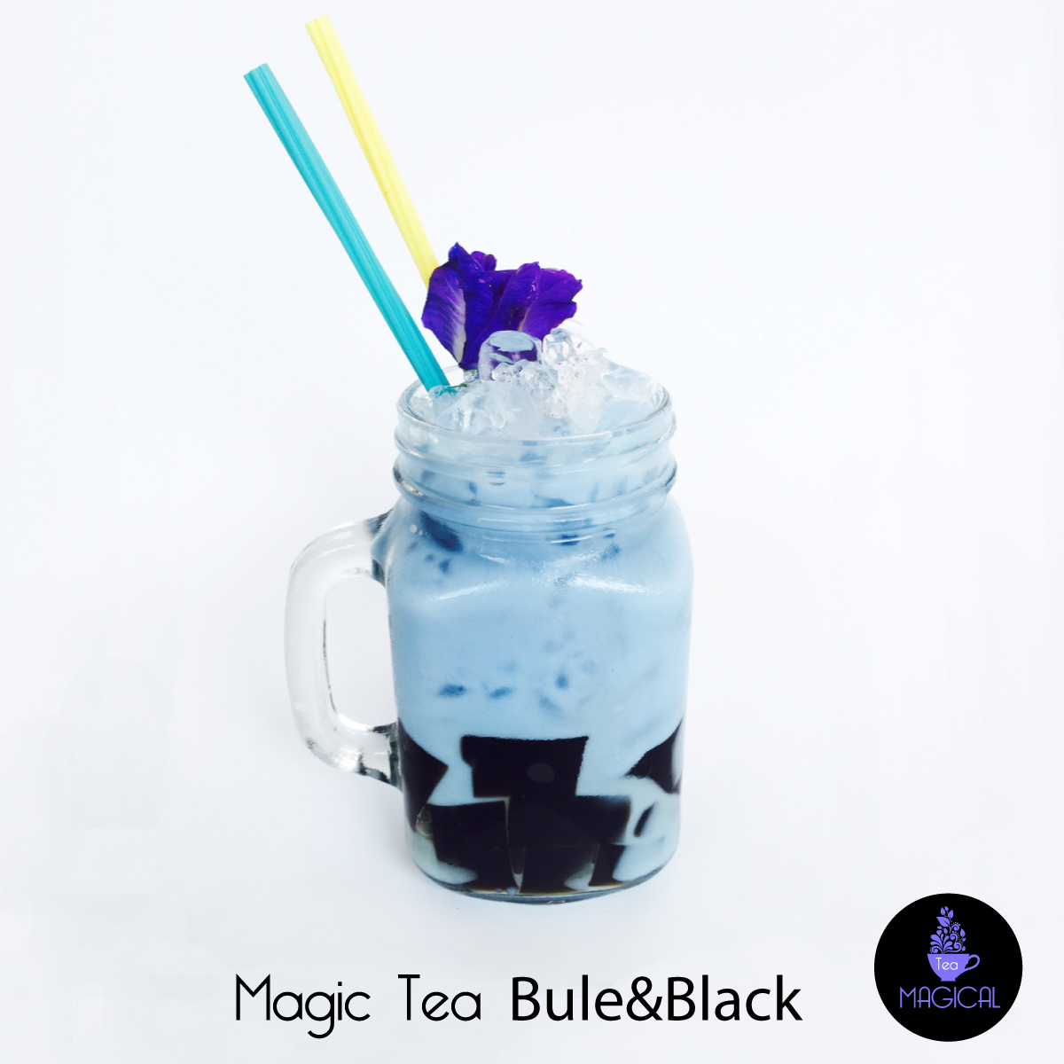 Magic Tea Blue&Black