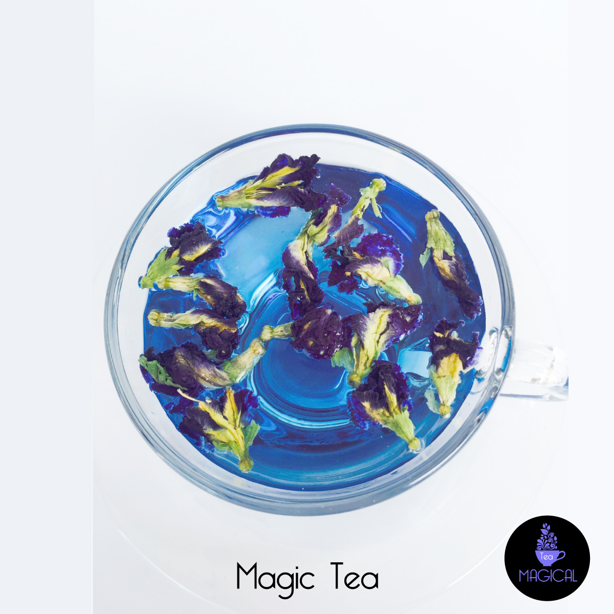 Magic Tea blue color