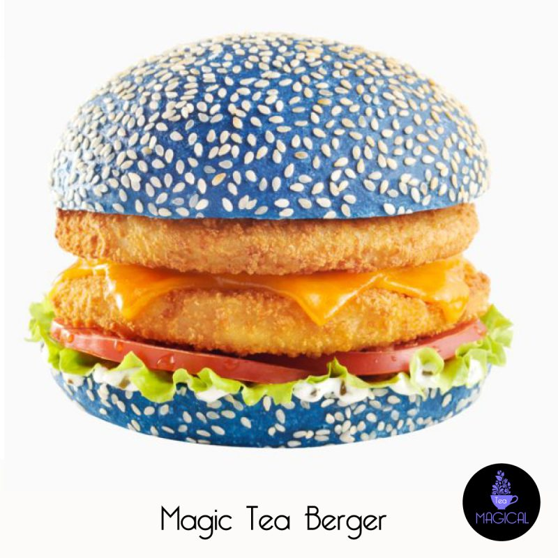 Magic tea Hamburger