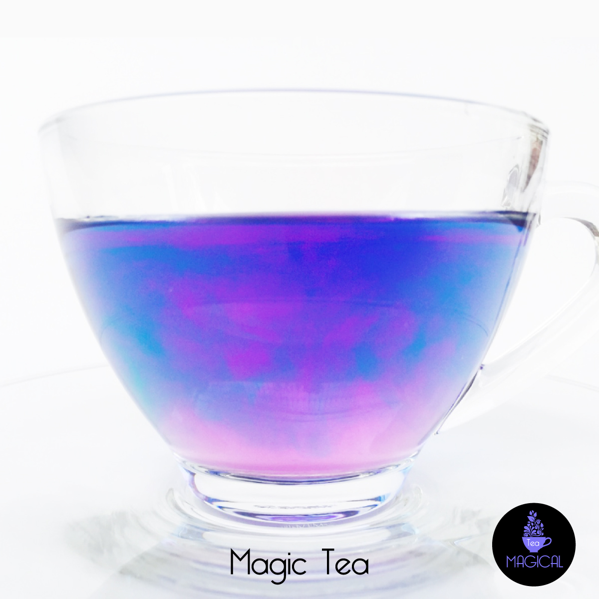 Magic tea couleur mer caraibe