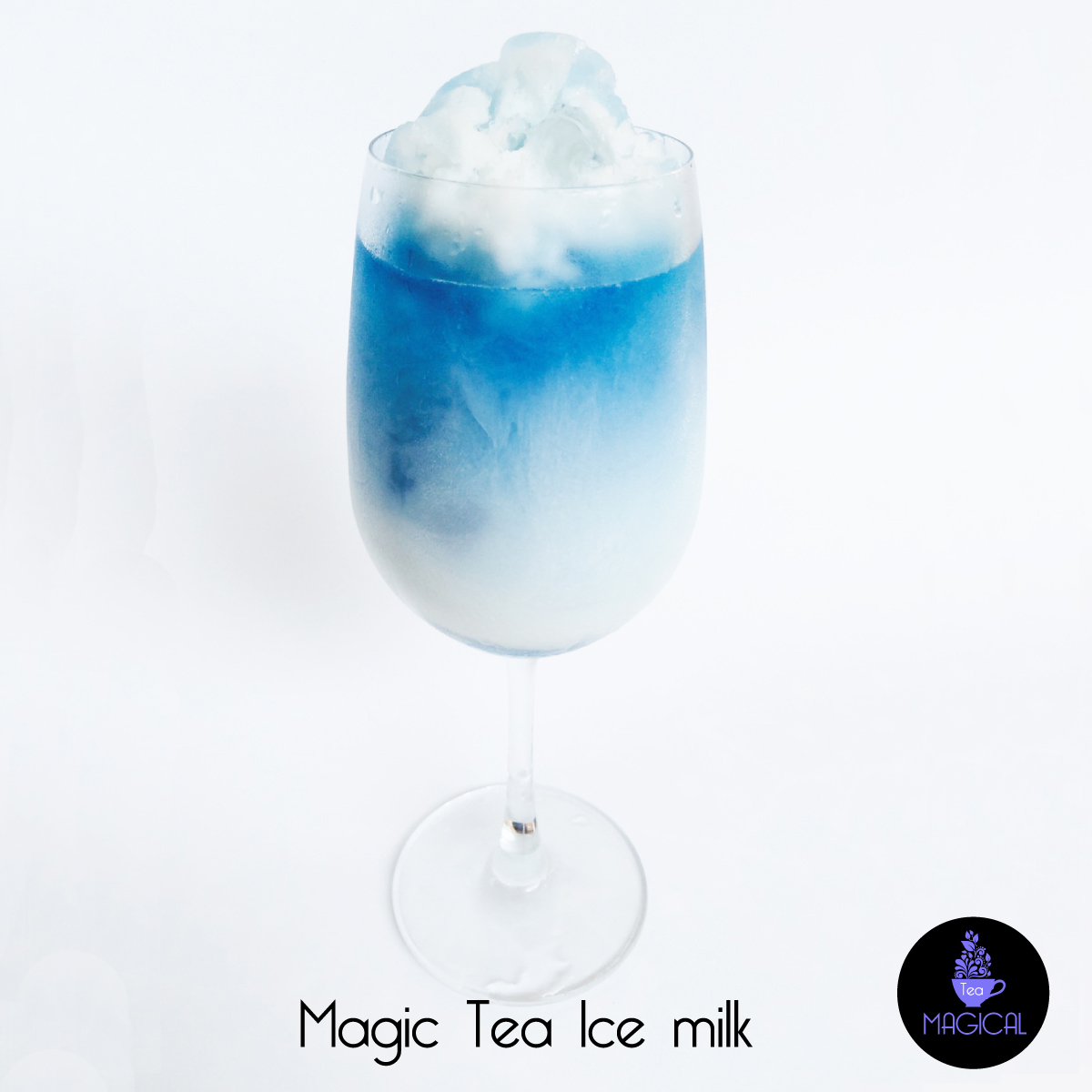 Magic tea ice milk