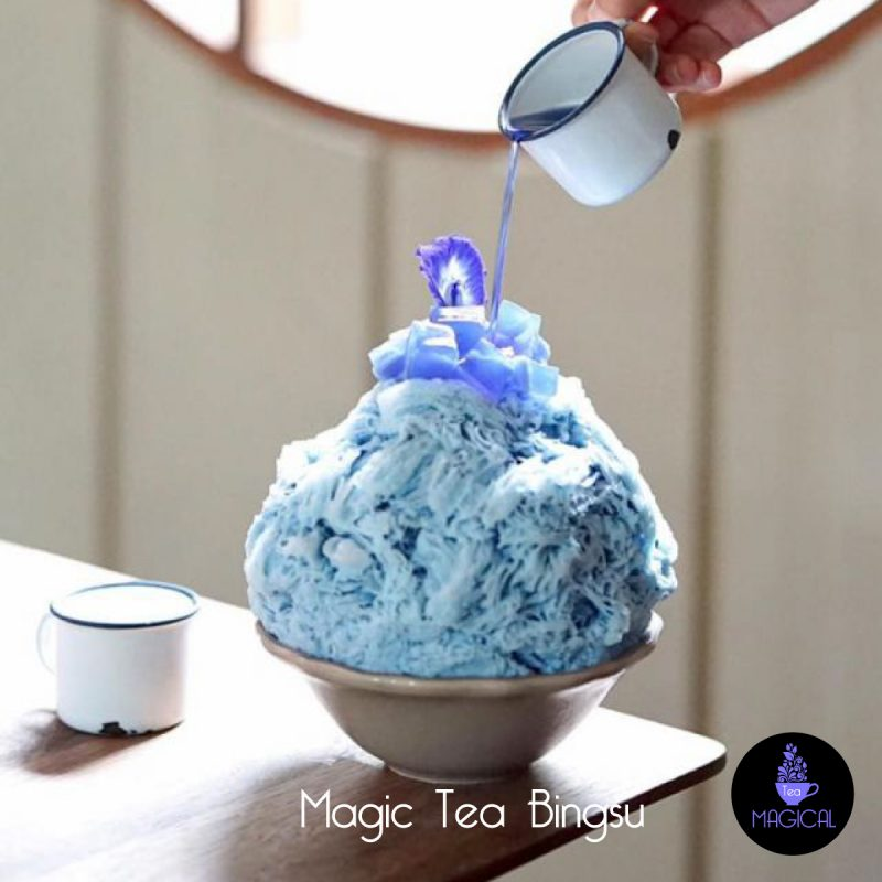 magic tea bingsu