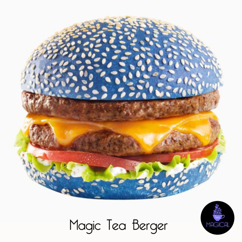 magic tea hamburger bleu