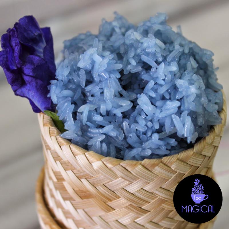 riz bleu